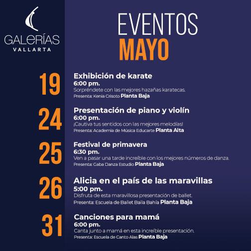 Eventos mayo b