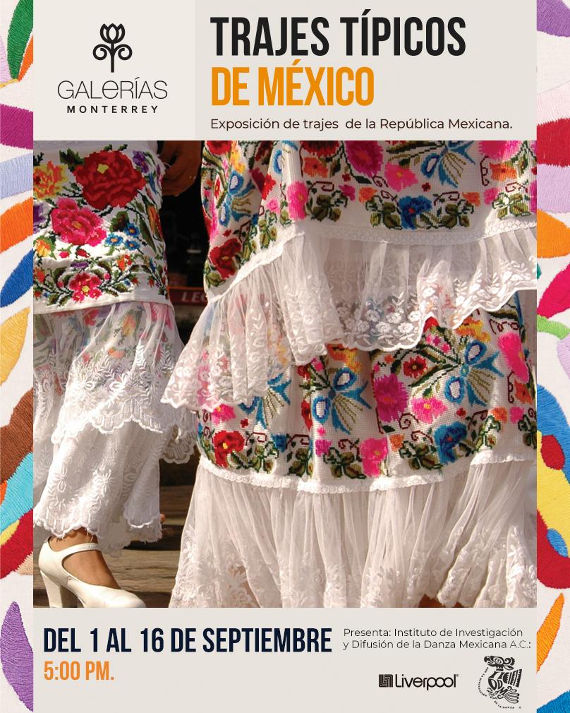 Trajes típicos de México