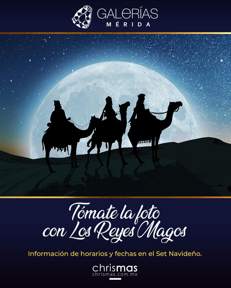 Tómate la foto con los Reyes Magos