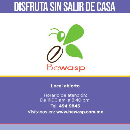 BE WASP