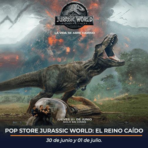 Pop Store Jurassic World Atizapán
