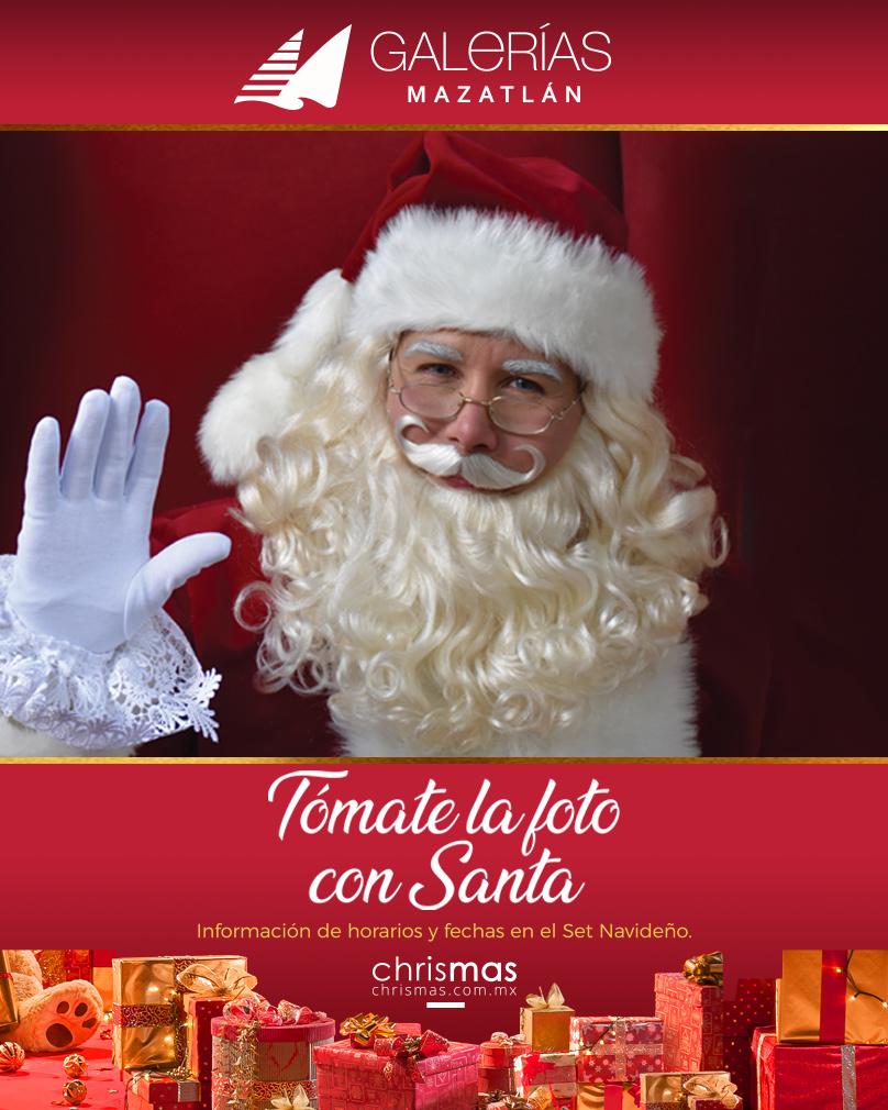 Tómate la foto con Santa