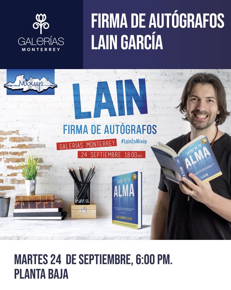 """Firma de Autógrafos """"Lain García"""""""