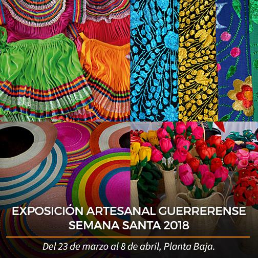 Exposición artesanal guerrerense