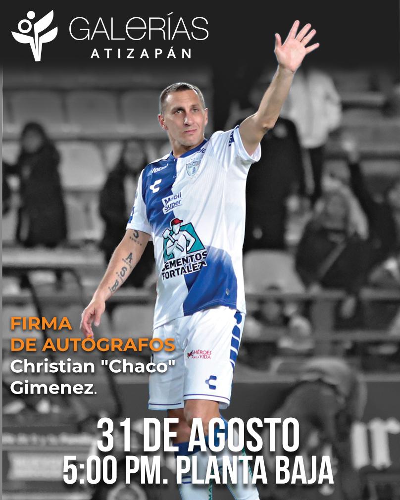 """Firma de autógrafos """"Chaco"""""""