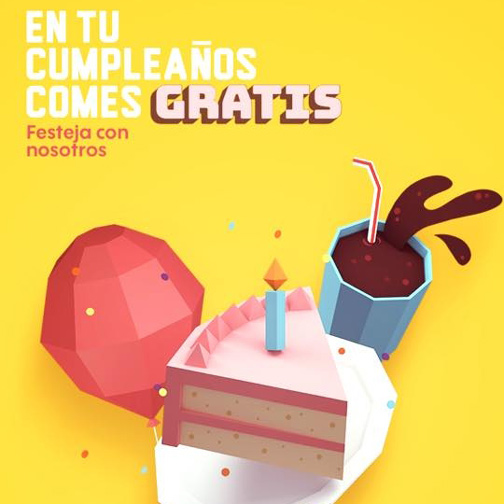 En tu cumpleaños comes gratis