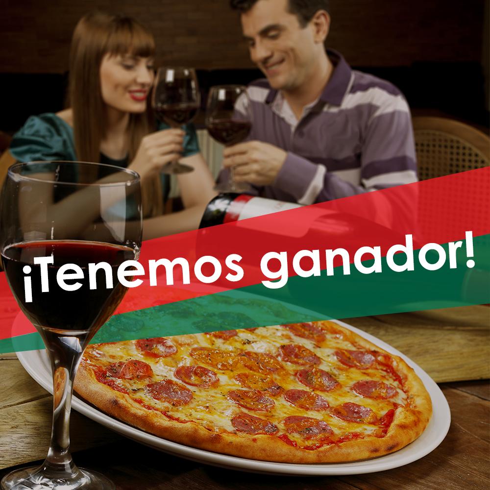 Ganadores Italianni's  Zacatecas